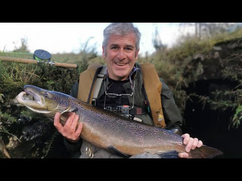 Salmon Fly Fishing 20lb River Orchy Scotland  Part 2