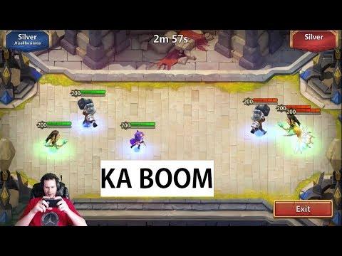 New Season Squad Showdown Free 2 Play + P2P Set Ups Castle Clash