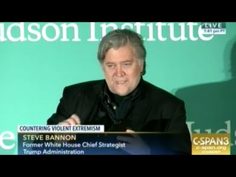 """Steve Bannon """"President Trump And His Whole Candidacy Was A Repudiation Of The Elite!"""""""