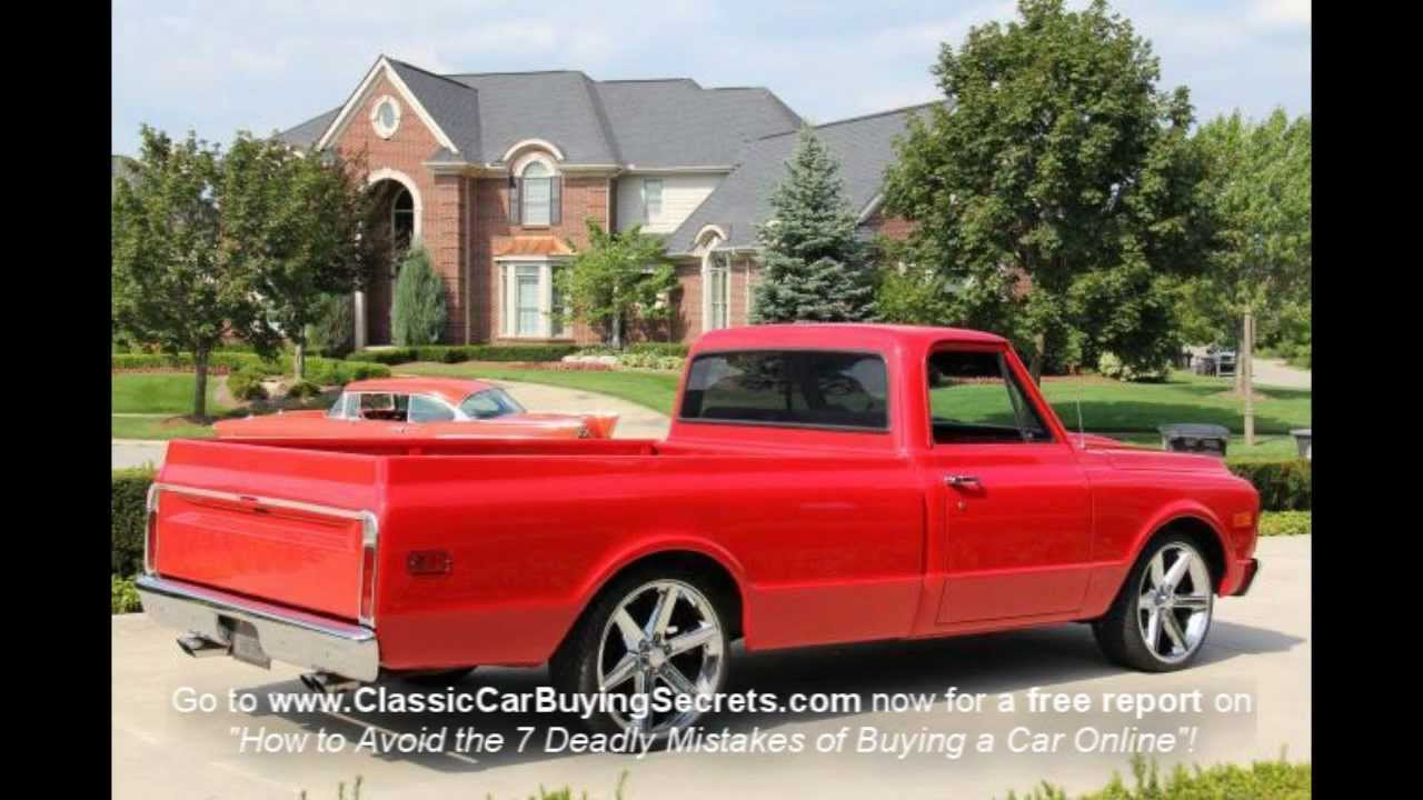 1970 Chevy Pickup Classic Muscle Car For Sale In Mi Vanguard Motor