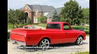 1970 Chevy Pickup Classic Muscle Car for Sale in MI Vanguard Motor Sales