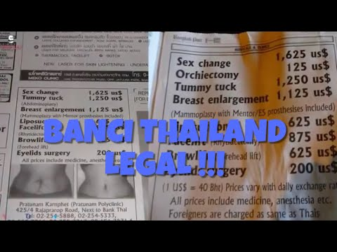 Banci Thailand Legal !!