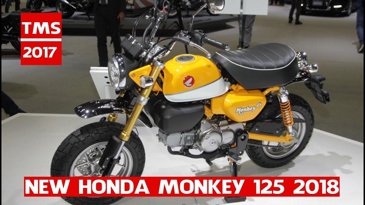 new 2018 honda monkey 125 honda monkey 125 at the 2017. Black Bedroom Furniture Sets. Home Design Ideas