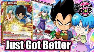 Bulma Deck just got a boost - Dragon Ball Super Card Game