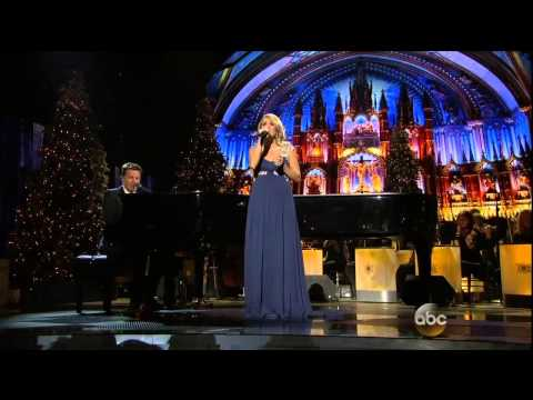 """Carrie Underwood & Michael W  Smith Sing """"All Is Well""""-Song Only (CMA Country Christmas)"""