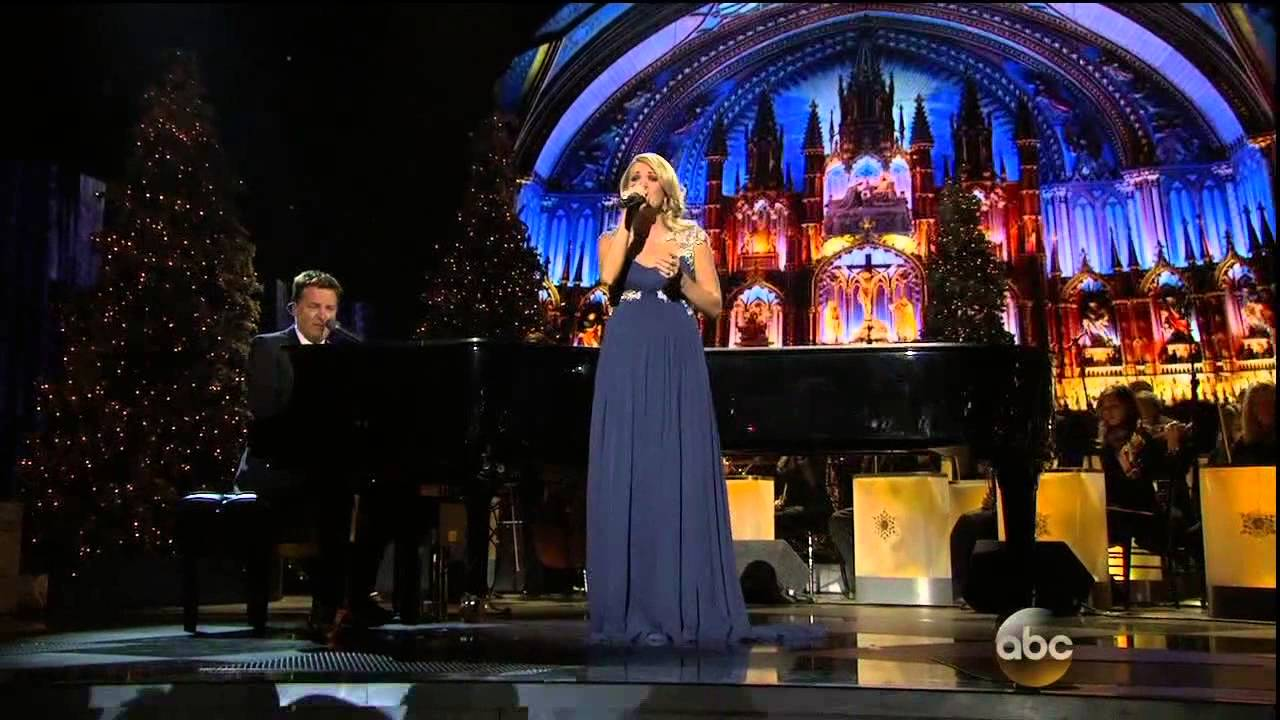 """Carrie Underwood & Michael W Smith Sing """"All Is Well""""-Song Only (CMA Country Christmas) - YouTube"""