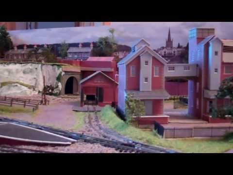 Croy Hill N Gauge Model Railway February 2014