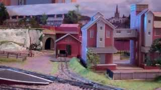 Croy Hill N Gauge Model Railway February 2014