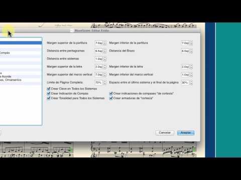 MuseScore Formato I