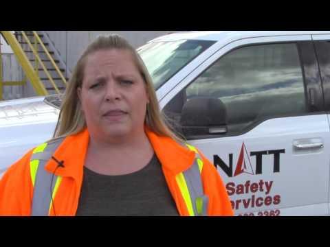 Natt Safety Services Kikstick Demonstration On Mining Boots Trial