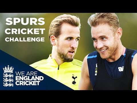 Harry Kane Plays Cricket! | Stuart Broad & Moeen Ali Take On Spurs Challenge