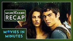 THE MAZE RUNNER in 4 minutes (Movie Recap)