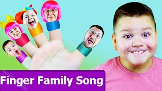 Daddy Finger Family song | Comptines Et Chansons | GumGumChiki