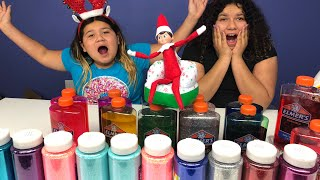 Elf on the Shelf! Picks Our Slime Ingredients!
