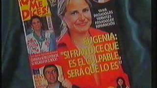 Reportaje en Corazon TVE Fran Rivera y Eugenia Martinez de Irujo en el concierto de OT en Sevilla