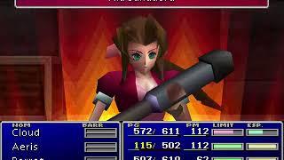 Final Fantasy VII CD1 Parte 21 En el barco Primer encuentro con Jenova