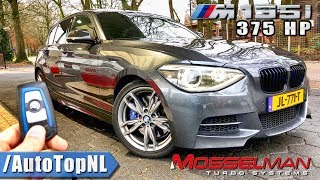 375HP BMW M135i Mosselman REVIEW POV Test Drive on AUTOBAHN by AutoTopNL