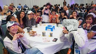 AX (Last) Day4 vlog: Maid Cafe cuteness+ Finally Got into one Panel!!