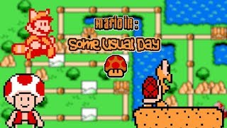 Mario in: Some Usual Day (Longplay/Playthrough)