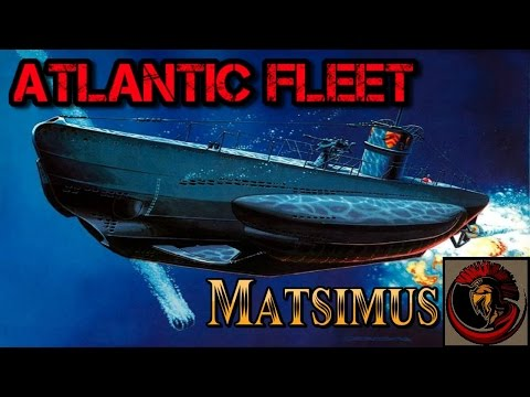 Atlantic Fleet Gameplay - Destroyer Vs Submarine