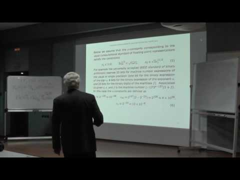 GACT 2016: Vladimir Vaskevich - Errors, condition numbers and guaranteed accuracy...