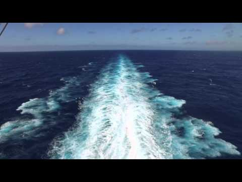 DJI Osmo on Royal Caribbean Anthem of the Seas - Engine Wash in 4k