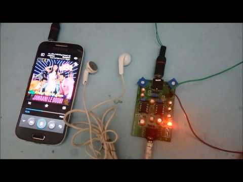 HeadPhone Amplifier on PCB using LM358 - YouTube