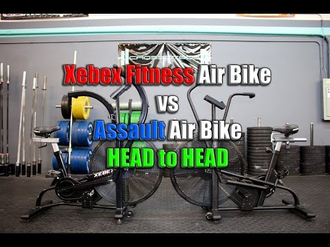 Assault Air Bike Xebex Fitness Air Bike Head To Head Review