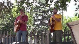Leading the Blind (acoustic) - Nice Try (Fox River House/Mile of Music) 8-9-2013