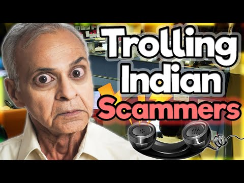 Trolling Indian Scammers and They Get Angry! #20 (Microsoft Tech Support, IRS and Government Grant)