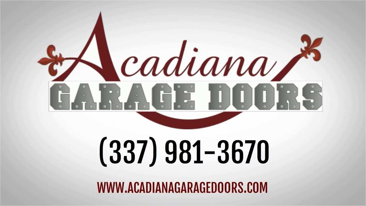 acadiana garage doorsAcadiana Garage Doors Garage Door Repair  YouTube