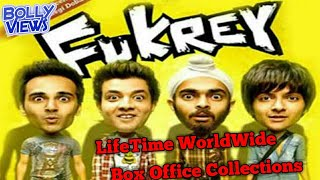 FUKREY Bollywood Movie LifeTime WorldWide Box Office Collections