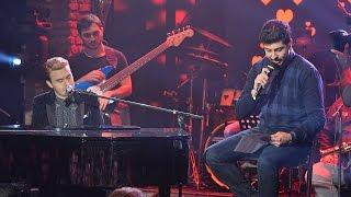 Beyaz Show - Mustafa Ceceli piyano çaldı; o, terk eden aşkına şiirini okudu!