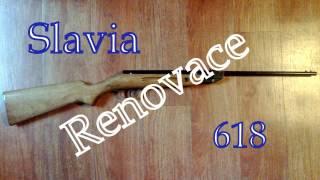 Slavia 618 - renovace vzduchovek - 1/2/