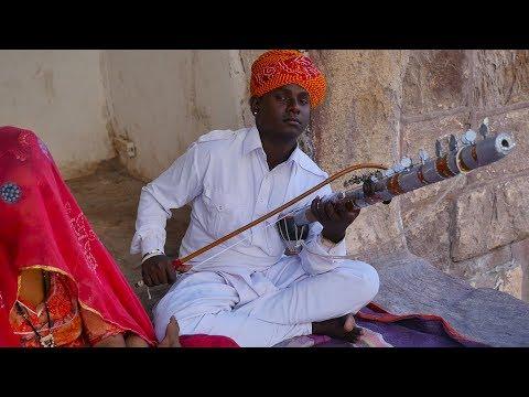 Hindi Song Main tenu samjhawan ki instrumental on Rajasthani Ravanahatha by local musician Artist