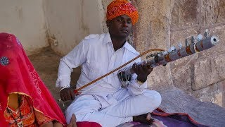 Hindi Song Main tenu samjhawan ki instrumental on Rajasthani Ravanahatha by local musician Artist