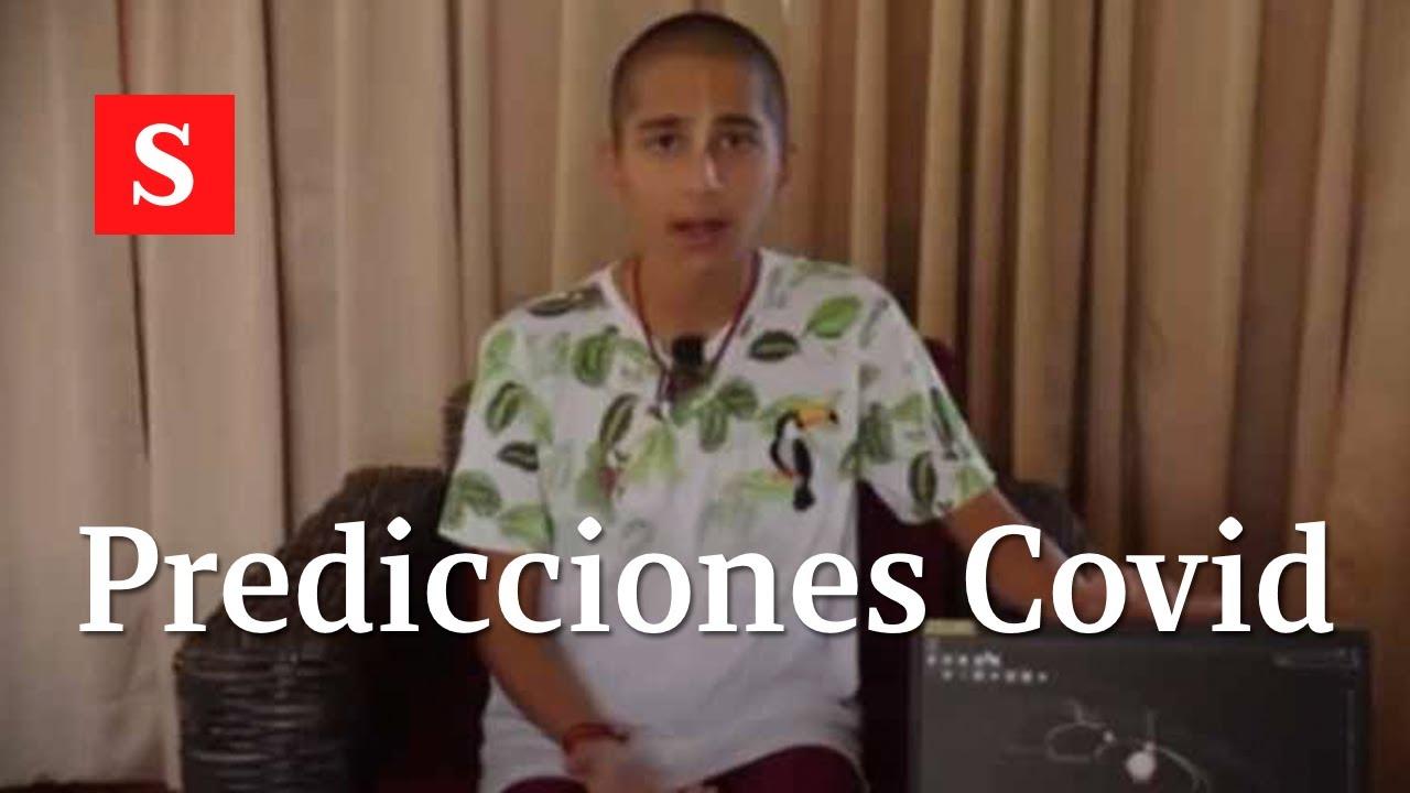 Abhigya Anand El Nino Que Predice Cuando Seria El Fin Del Coronavirus Videos Semana Youtube