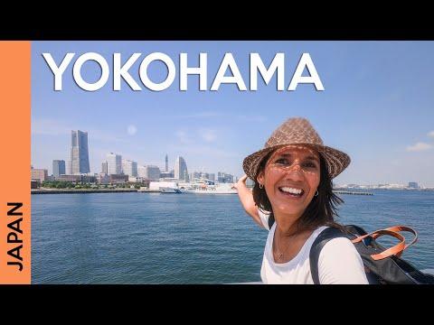 YOKOHAMA, JAPAN Tour: Beautiful Waterfront And Minatomirai 😍 | Vlog 1