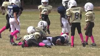 Andrew Madison Youth Football Highlights 2015 (Here comes the boom)