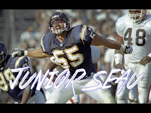 "Junior Seau ""The Best Charger"" Highlights"