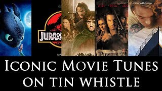 ICONIC MOVIE TUNES ON TIN WHISTLE | CutiePie Covers