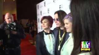 SHARON, KELLY & OZZY OSBOURNE at Lesbian Gala 2013