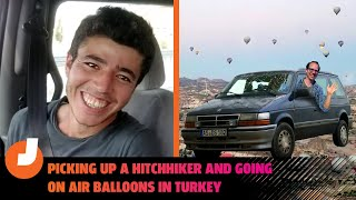 homepage tile video photo for I Picked Up a Hitchhiker and Hot Air Ballooned on my Epic Road Trip Through Turkey