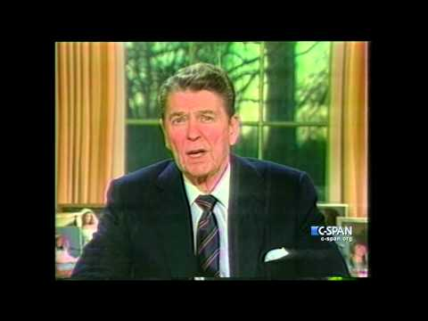 President Reagan on Space Shuttle Challenger Explosion (C-SPAN)