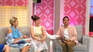 Ayu Ting Ting, Nikita Mirzani, dan Roro Fitria dalam acara Brownis TTV