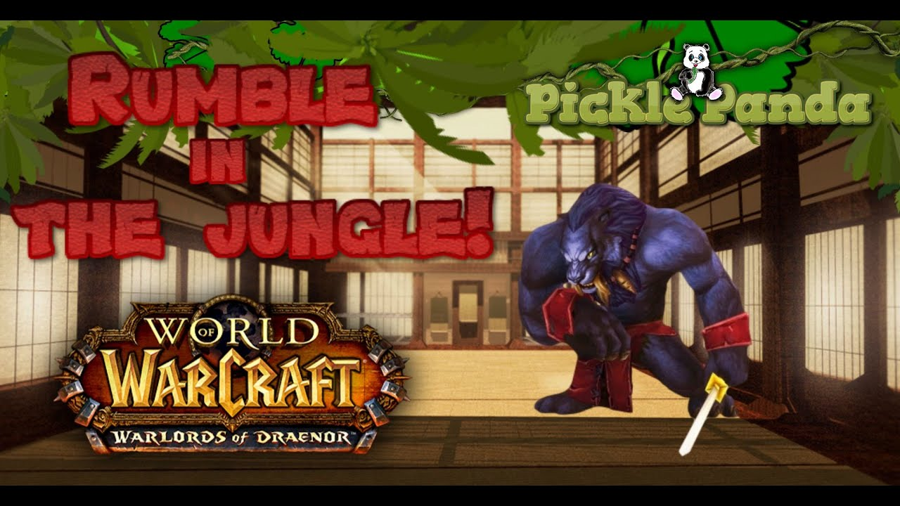 wow rumble in the jungle
