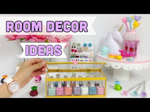 EASY & CHEAP ROOM DECOR IDEAS (CRAFTS WITH RECYCLED ITEMS)