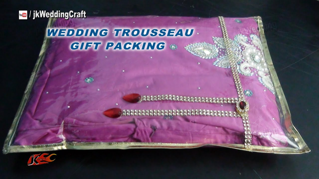 Wedding Gifts Packing Designs: Easy Packing Ideas For Wedding Trousseau