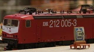 Modelleisenbahn Deutschland Express in Gelsenkirchen - eine der größten Märklin Modellbahn