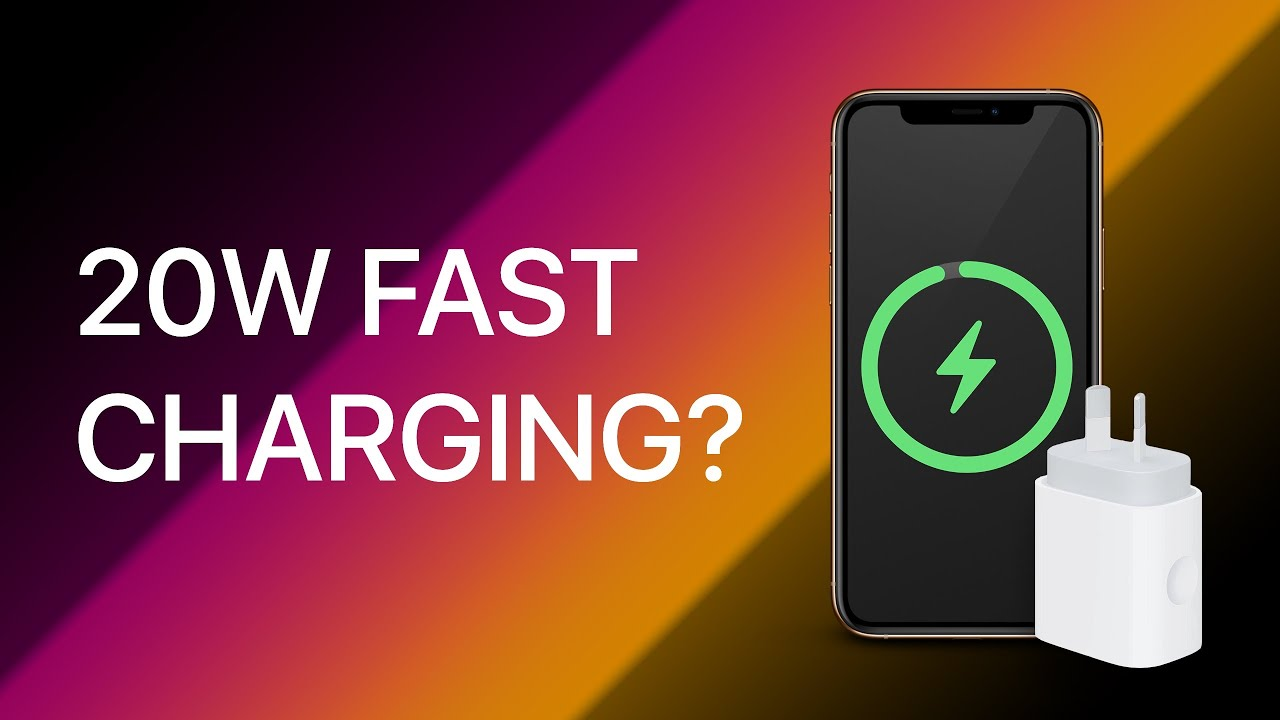 20W vs 5W Charging on iPhone — How much faster is it? (Quick unboxing and comparison)